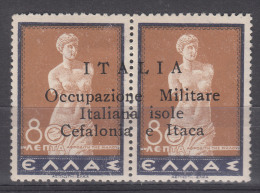 Italy Occupation In WWII Cefalonia & Itaca 1941 Sassone#16 Mint Hinged - Cefalonia & Itaca