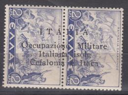 Italy Occupation In WWII Cefalonia & Itaca 1941 Sassone#17 Mint Hinged - Cefalonia & Itaca