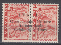Italy Occupation In WWII Cefalonia & Itaca 1941 Sassone#18 Mint Hinged - Cefalonia & Itaca