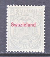 SWAZILAND  9  Fault  Pin Hole    * - Swaziland (...-1967)