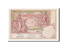 Belgique, 20 Francs, 1919, KM:67, 1919-03-15, TTB - [ 2] 1831-... : Belgian Kingdom