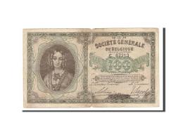Belgique, 100 Francs, Société Générale, KM:90, 1914-12-29, TB - [ 3] Duitse Bezetting Van België