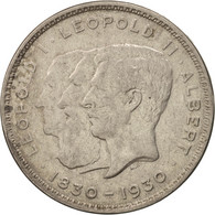Belgique, 10 Francs-10 Frank, Deux / Twee Belgas, 1930, KM:99 - 10. 10 Francs & 2 Belgas