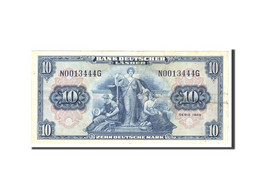 République Fédérale Allemande, 10 Deutsche Mark, 1949, KM:16a, 1949-08-22,... - 10 Deutsche Mark