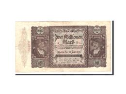 Allemagne, 2 Millionen Mark, 1923, KM:89a, 1923-07-23, TB+ - 2 Millionen Mark