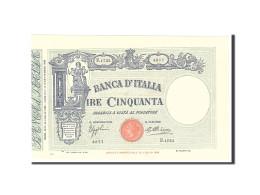 Italie, 50 Lire, 1926, KM:38e, 1926-05-19, SPL - 50 Lire