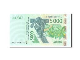 West African States, 5000 Francs, 2003, KM:317Ca, Undated, NEUF - États D'Afrique De L'Ouest