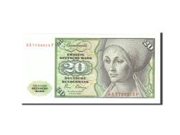 République Fédérale Allemande, 20 Deutsche Mark, 1980, KM:32d, 1980-01-02,... - 20 Deutsche Mark