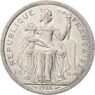 French Polynesia, 2 Francs, 1986, Paris, TTB+, Aluminum, KM:10 - Polynésie Française