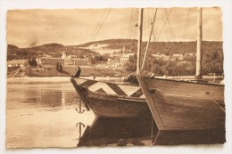 Saguenay Schooners At Anchor, Tadoussac, Quebec, 1952 - Saguenay