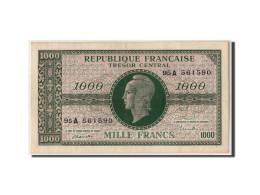 """France,1000 Francs Marianne Type 1945""""Chiffres Gras"""",non Daté (1947),VF12.1,SUP+ - Trésor"""