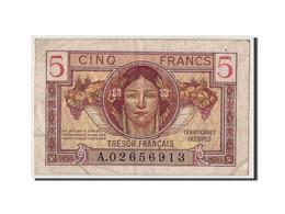 France, 5 Francs Trésor Français Type 1947, Non Daté (1947), KM:M6a, VF29.1 TB+ - Tesoro