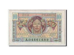 France, 10 Francs Trésor Français Type 1947, Non Daté (1947), KM:M7a, VF30.1, SP - Treasury
