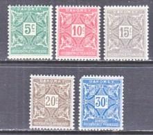 DAHOMEY  J 9-13  * - Dahomey (1899-1944)