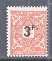 DAHOMEY  J 18  * - Dahomey (1899-1944)