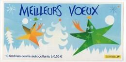 Timbres - Meilleurs Voeux - Faciale 5.00 € - N° 20 - Markenheftchen