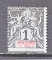 SENEGAMBIA & NIGER   1  * - Senegambia And Niger (1903-1906)