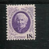 207 331 524 USA POSTFRIS MINT NEVER HINGED POSTFRISCH EINWANDFREI SCOTT 1399 Dr Elizabeth Blackwell - Unused Stamps