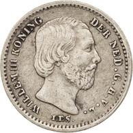 Pays-Bas, William III, 5 Cents, 1863, TTB+, Argent, KM:91 - [ 8] Monnaies D'or Et D'argent