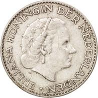 Pays-Bas, Juliana, Gulden, 1957, TTB+, Argent, KM:184 - [ 8] Monnaies D'or Et D'argent