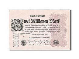 Allemagne, 2 Millionen Mark, 1923, KM:103, 1923-08-09, SPL - [ 3] 1918-1933 : Repubblica  Di Weimar