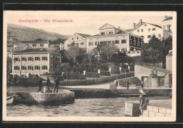 AK Lussingrande, Villa Welserscheimb - Kroatien