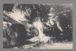 CPA 88- THUILLIERES - FOND DE LA CASCADE DE CHEVRE ROCHE - Vittel Contrexeville