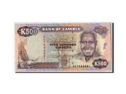 Zambie, 500 Kwacha, Non Daté (1991), KM:35a, NEUF - Zambia