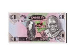 Zambie, 1 Kwacha, Non Daté (1980-88), KM:23b, NEUF - Zambie