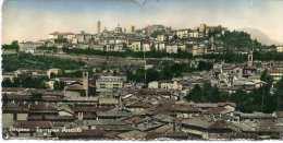 CP CARTE DOUBLE  (Réf : R793) BERGAMO  (ITALIE) Panorama Parricle - Bergamo
