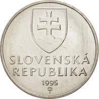 Slovaquie, 5 Koruna, 1995, SPL+, Nickel Plated Steel, KM:14 - Slovaquie