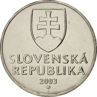 Slovaquie, 2 Koruna, 2003, FDC, Nickel Plated Steel, KM:13 - Slovaquie