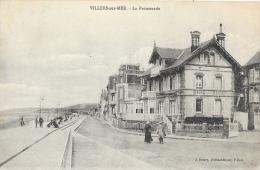 Villers-sur-Mer (Calvados) - La Promenade - Edition J. Boury - Villers Sur Mer