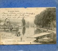 LA LORRAINE ILLUSTREE - ENVIRONS DE NANCY - CHAMPIGNEULLES LE CANAL - Nancy