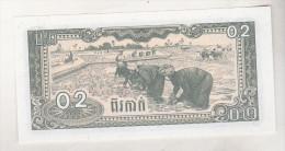 Cambogia 0.2 Riel 1979 Unc , Pick 26 - Billetes