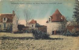 MEREAU - Château Des Murs, Pigeonnier Rond.(carte Vendue En L'état) - Unclassified