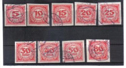 BIN828 ÖSTERREICH 1920  Michl 93/01 PORTO Used / Gestempelt SIEHE ABBILDUNG - Postage Due