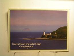 Campbeltown - Davaar Island And Ailsa Craig - Ecosse