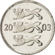 Estonia, 20 Senti, 2003, FDC, Nickel Plated Steel, KM:23a - Estonie