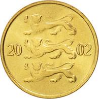 Estonia, 10 Senti, 2002, FDC, Aluminum-Bronze, KM:22 - Estonie