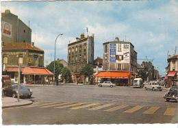 25563 ROMAINVILLE - Place CARNOT- Ed Raymond -vieille Voiture 4l Tabac Bar Le Soleil - Romainville