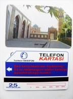 Phone Card From Uzbekistan Magnetic Urmet 25un. - Ouzbékistan