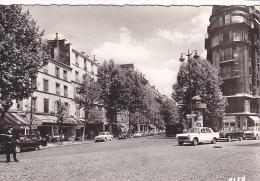 25565 PARIS 10e Carrefour Louis Blanc Et Tabac Le Celtique --coll Guevel 7.623D - Voiture 404 Gendarme - Arrondissement: 10