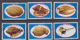 Sao Tome E Principe 1981 Sea Shells 6v Used  (27419) - Sao Tome En Principe