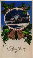 """BELLE FANTAISIE """"BONNE ANNEE"""" HOUX,CLOCHES REF 46098 - New Year"""