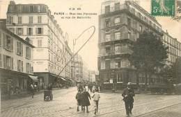 PARIS RUE DES PYRENEES ET RUE DE BELLEVILLE - Arrondissement: 20