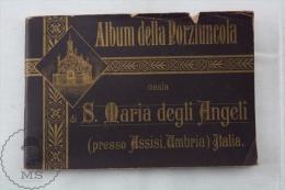 1900 Album Della Porziuncola Ossia Di S. Maria Degli Angeli - Presso Assisi Umbria - Italia By P. Bernardino Mª Iba - Religión & Esoterismo