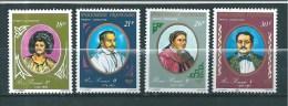 Polynésie  Poste Aérienne De 1976   N°106 A 109 Neufs Petite Trace De Charnière - Unused Stamps
