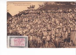 25574 - FETE MALGACHE A TANANARIVE- Sans  Ed - 2 Timbres 5 C Madagascar