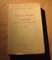 Nouvelle Histoire De Tamines J. Fichefet 1963 Moignelée Sambreville, Basse-Sambre 14-18 WW1 WW2 Etc... - Cultura